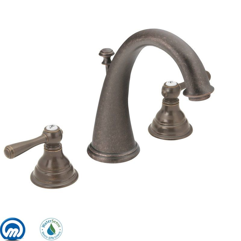 Moen T6125 Double Handle Widespread Bathroom Faucet from the Kingsley Sale $387.23 ITEM: bci1020830 ID#:T6125ORB UPC: 26508132463 :