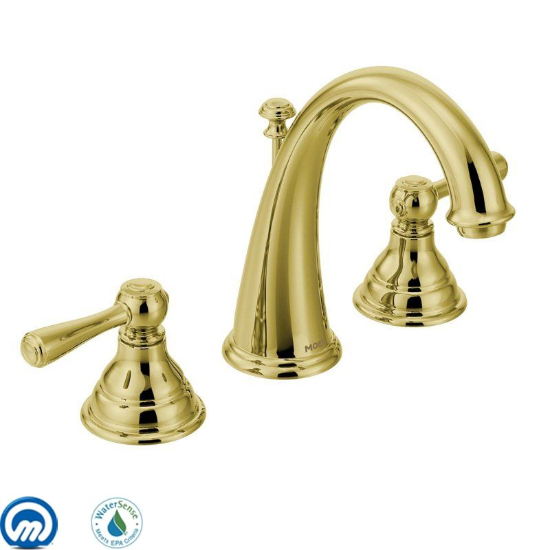 Moen T6125 Double Handle Widespread Bathroom Faucet from the Kingsley Sale $396.34 ITEM: bci1959182 ID#:T6125P UPC: 26508164099 :