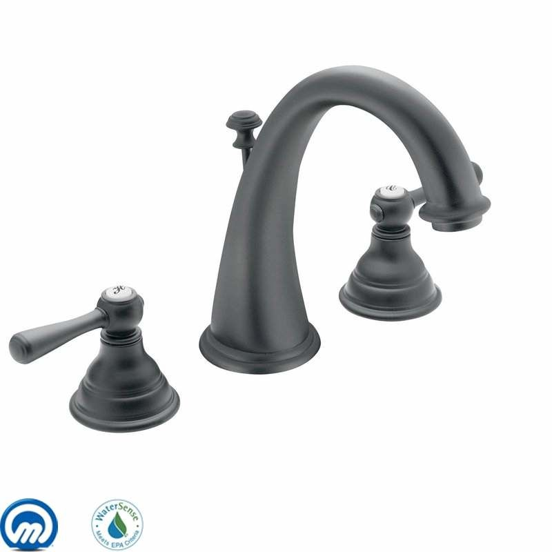 Moen T6125 Double Handle Widespread Bathroom Faucet from the Kingsley Sale $387.23 ITEM: bci1020831 ID#:T6125WR UPC: 26508126851 :