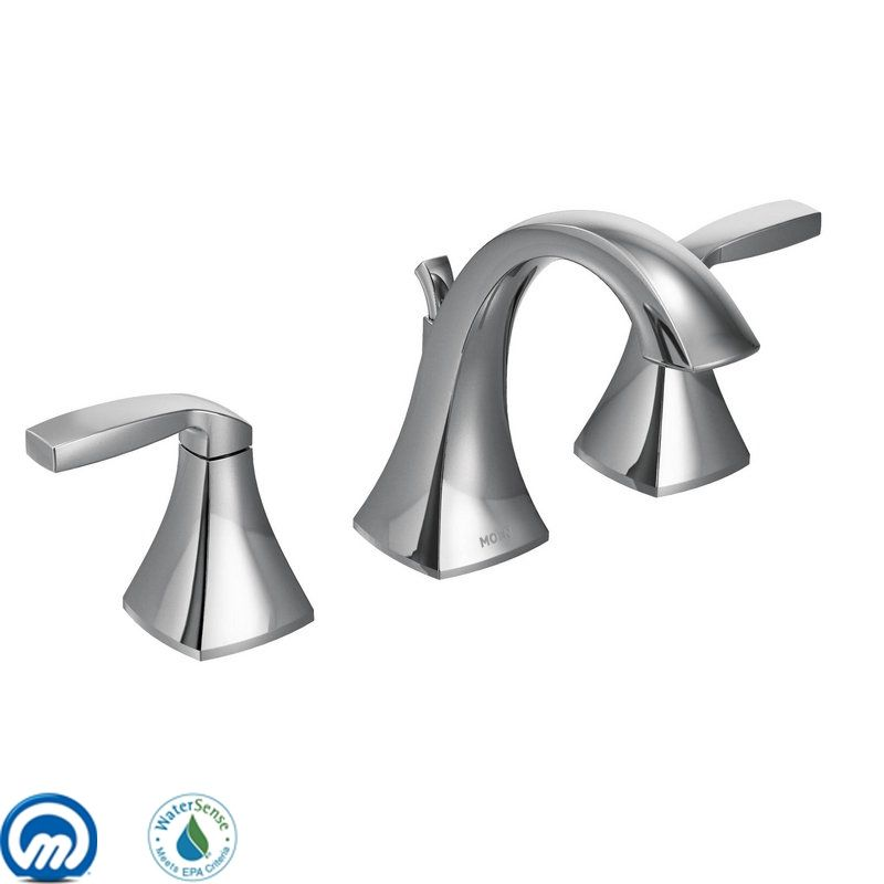Moen T6905 Double Handle Widespread Bathroom Faucet from the Voss Sale $182.14 ITEM: bci1958852 ID#:T6905 UPC: 26508230640 :