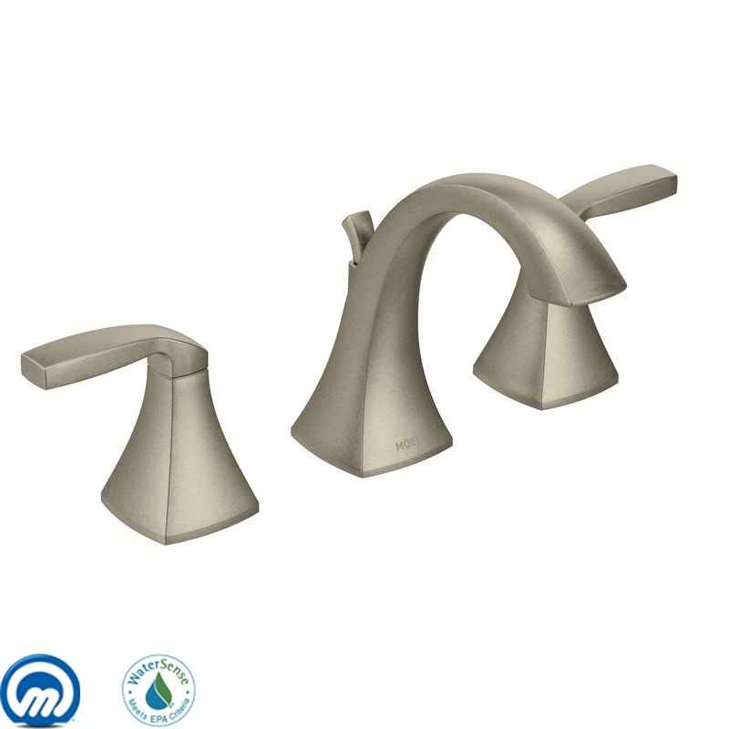 Moen T6905 Double Handle Widespread Bathroom Faucet from the Voss Sale $306.15 ITEM: bci1958853 ID#:T6905BN UPC: 26508230657 :