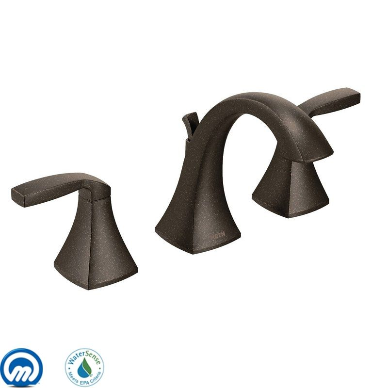 Moen T6905 Double Handle Widespread Bathroom Faucet from the Voss Sale $336.75 ITEM: bci1958854 ID#:T6905ORB UPC: 26508230664 :