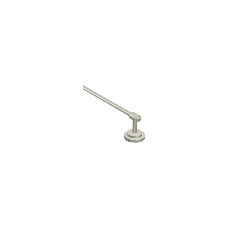 "Moen DN0724 24"" Towel Bar from the Iso Collection Brushed Nickel"