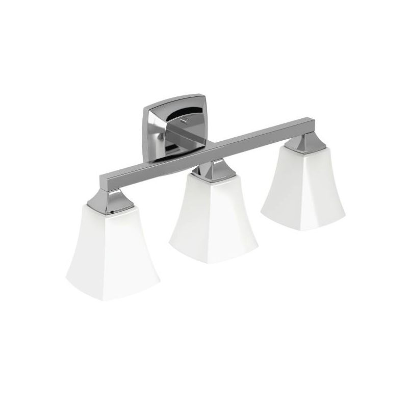 "Moen YB5163 Voss 22"" Wide 3 Light Reversible Bathroom Vanity Light"