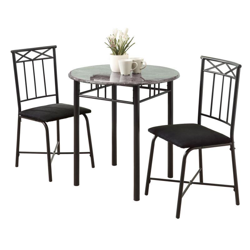 Monarch Specialties 2 piece bistro set I 3 Piece Bistro Table and