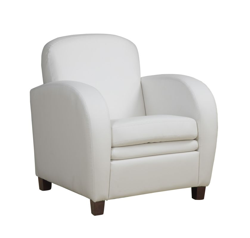 Monarch Specialties Faux leather accent chair V Faux Leather
