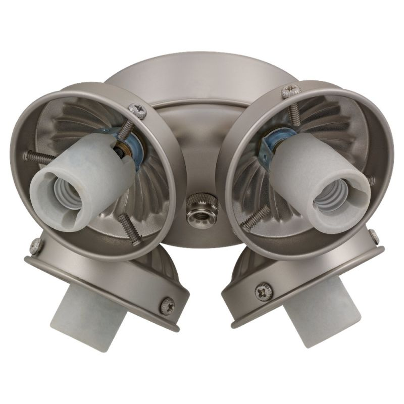 Monte Carlo H4 Fan Light Kit Brushed Pewter (EPACT Compliant) Ceiling
