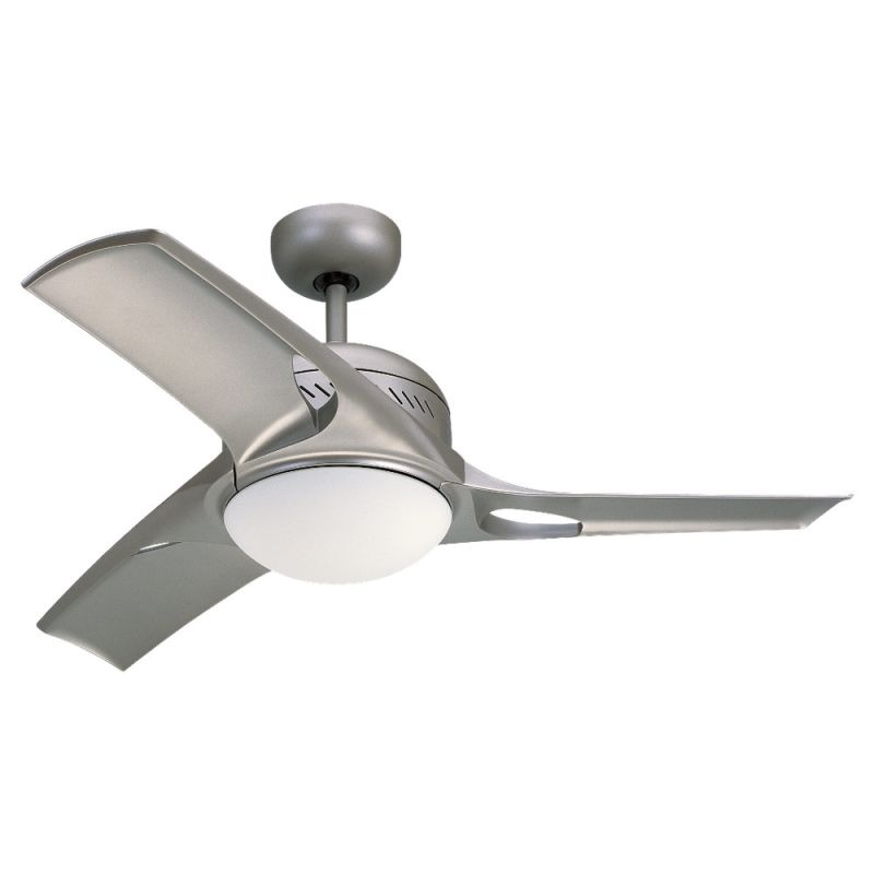 """Monte Carlo Mach Two Three Bladed 38"""" Indoor Ceiling Fan with Included"""