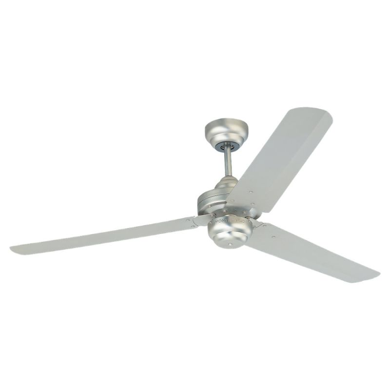 Monte Carlo 3su54bp Brushed Pewter 54 Quot Three Blade Fan