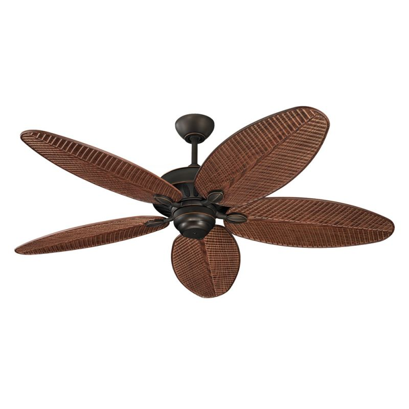 "Monte Carlo Cruise 52"" Wet Rated Outdoor Ceiling Fan Roman Bronze Fans"
