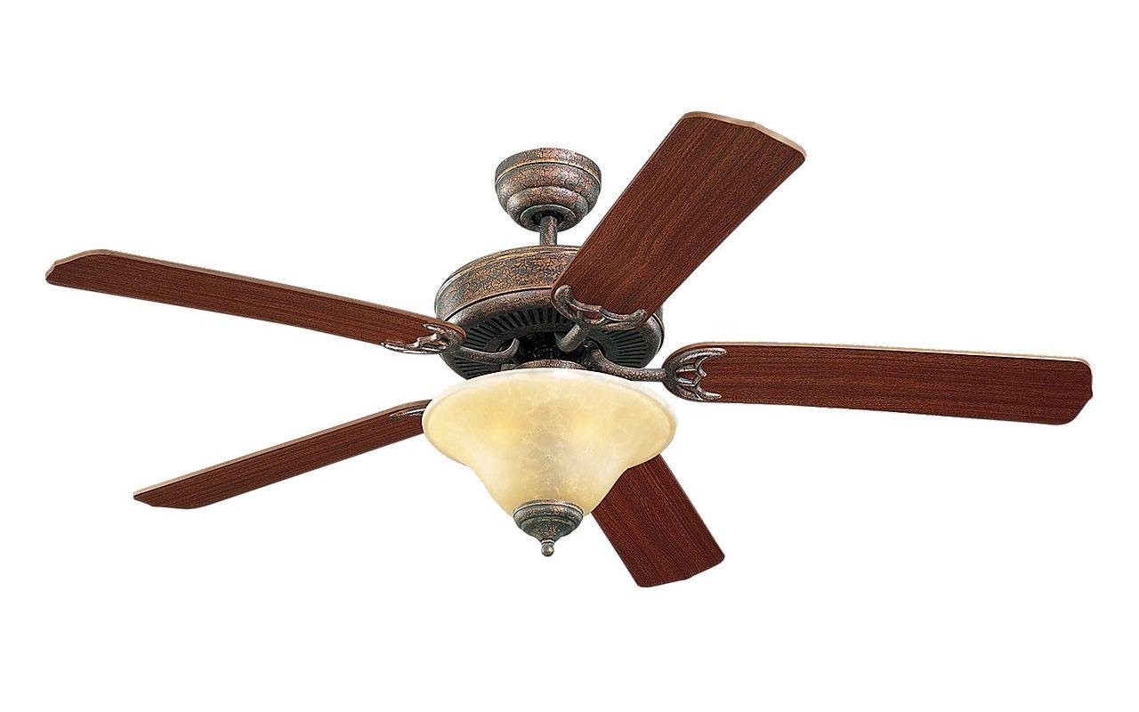 Monte Carlo Homeowner Deluxe 52 Inch Indoor Ceiling Fan Tuscan Bronze