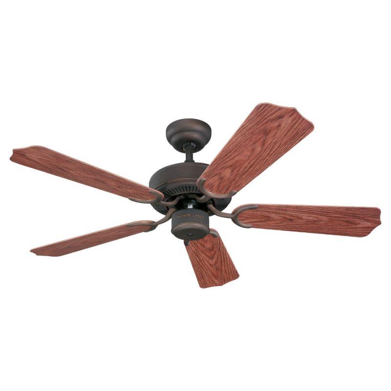 """Monte Carlo Weatherford II 42"""" Indoor / Outdoor Five Blade Ceiling Fan"""