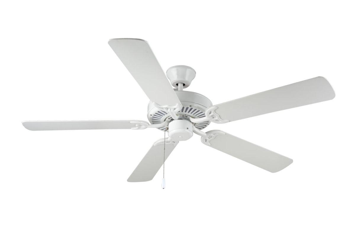 "Monte Carlo Homebuilder I Builder Fan 52"" 5 Blade Indoor Ceiling Fan"