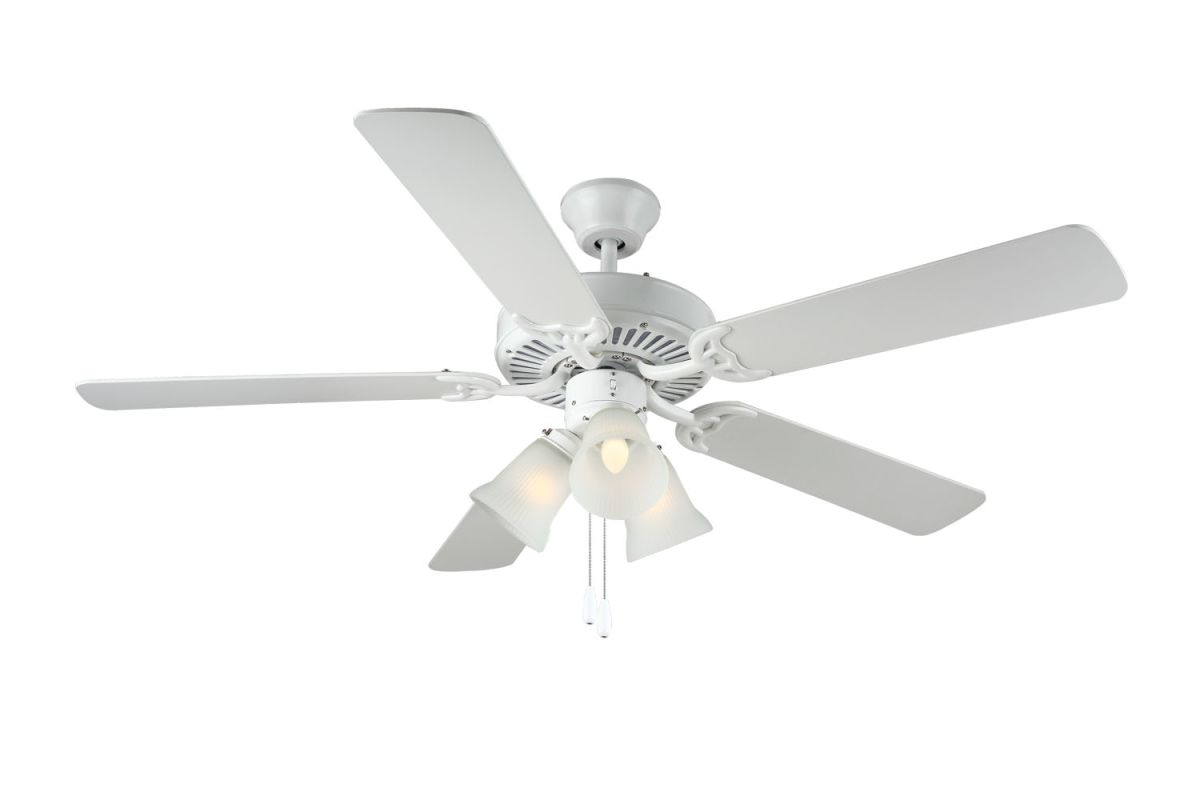 "Monte Carlo Homebuilder III Builder Fan III 52"" 5 Blade Indoor Ceiling"