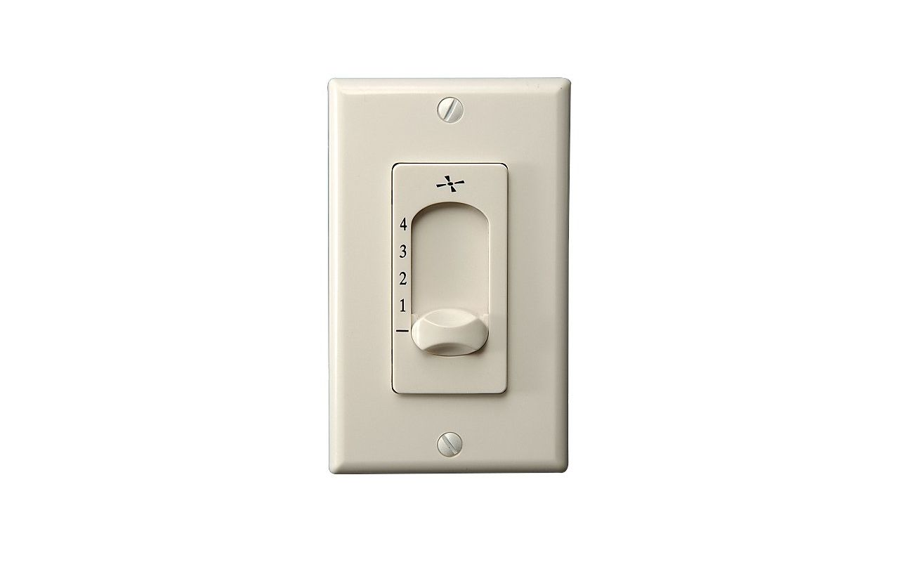 Monte Carlo ESSWC-3 Three-Wire Four Speed Fan Control Wall Switch