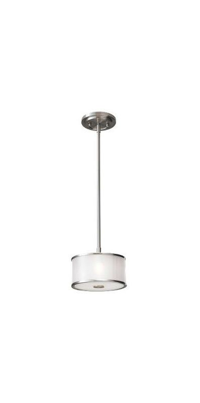 Murray Feiss P1137BS Brushed Steel Contemporary Casual Luxury Pendant