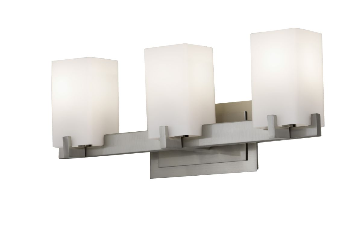 Murray Feiss VS18403-BS Brushed Steel Contemporary Riva Bathroom Light