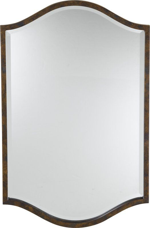 Murray Feiss MR1077 Drawing Room Mirror Walnut Home Decor Lighting