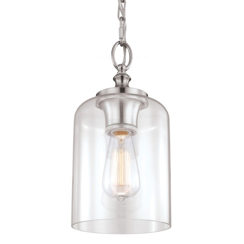 Murray Feiss P1310BS Brushed Steel Contemporary Hounslow Pendant