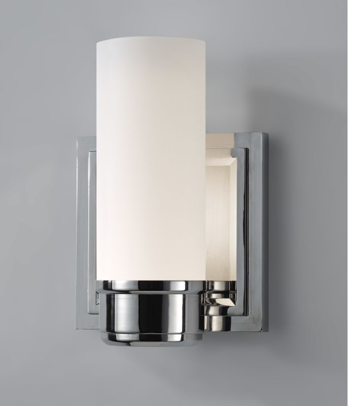 Murray Feiss VS38001-PN Nickel Contemporary Lucas Bathroom Light