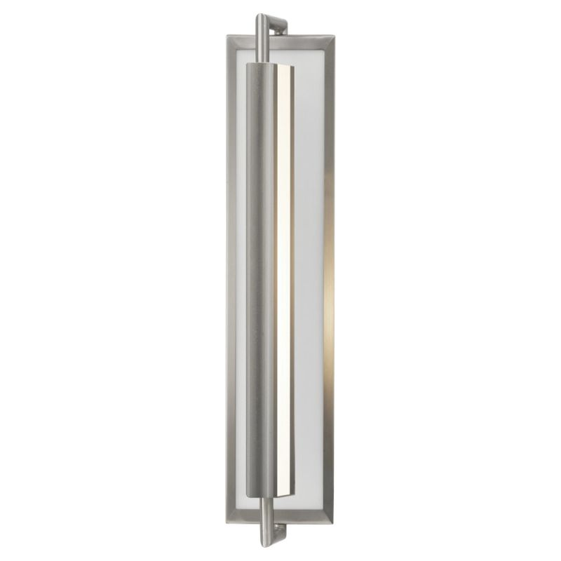 Murray Feiss WB1452 Mila 2 Light Reversible Wall Sconce Brushed Steel