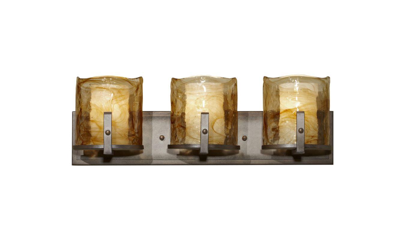 Murray Feiss VS18903 Aris 3 Light Bathroom Vanity Light Roman Bronze