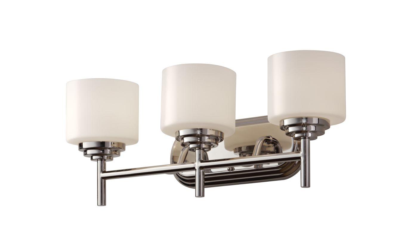 Murray Feiss VS26003 Malibu 3 Light Bathroom Vanity Light Polished