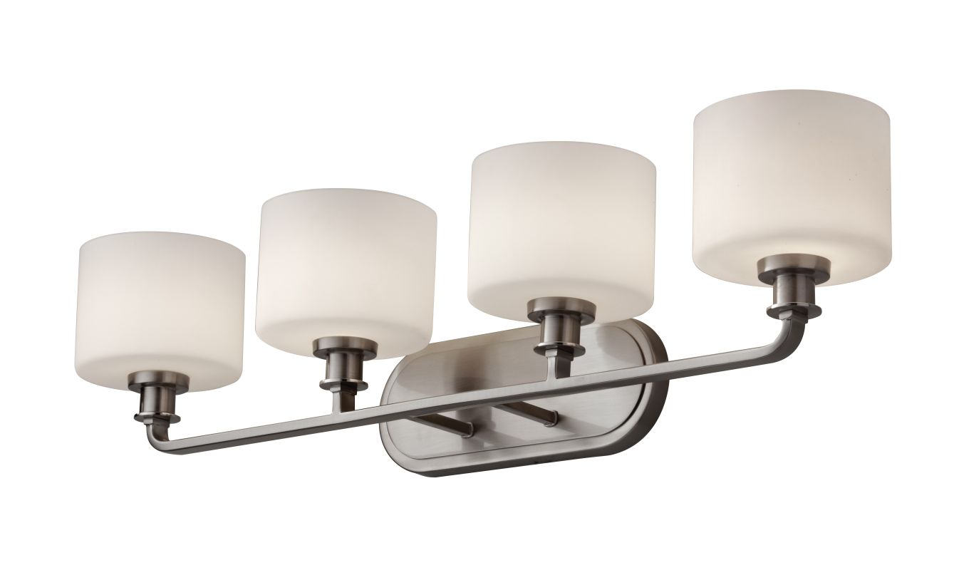 Murray Feiss VS29004 Kincaid 4 Light Bathroom Vanity Light Brushed