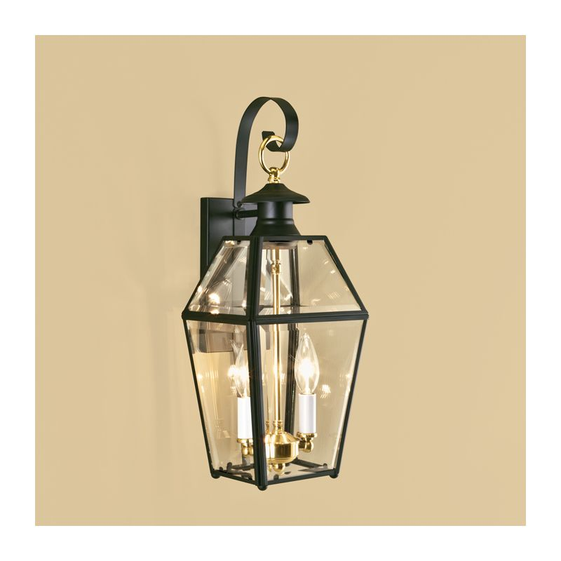 "Norwell Lighting 1066 Old Colony 2 Light 17"" Tall Outdoor Wall Sconce"