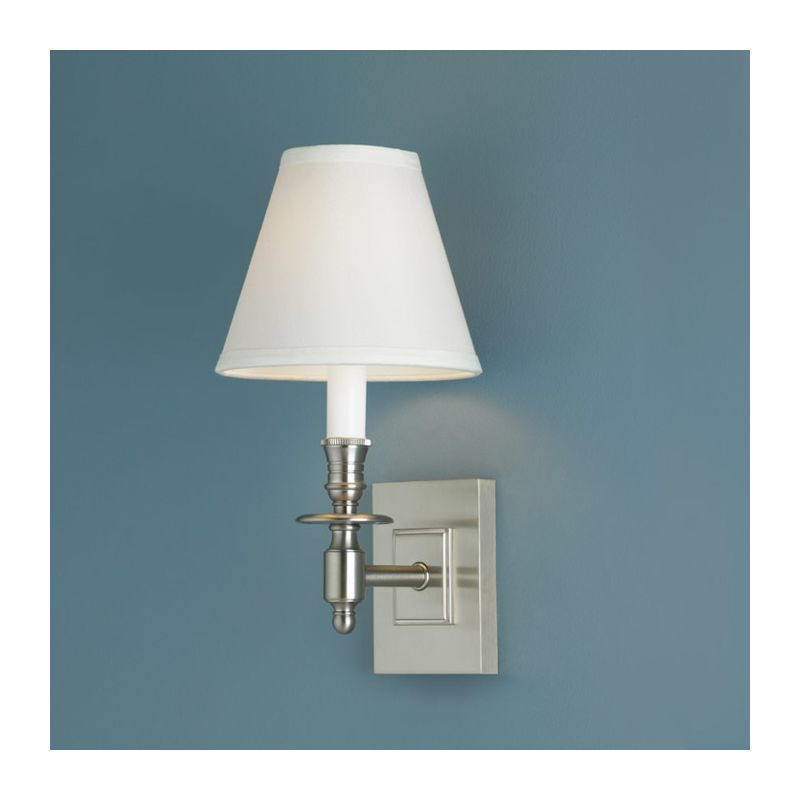 Norwell Lighting 5120-WS Weston 1 Light Wall Sconce Brushed Nickel