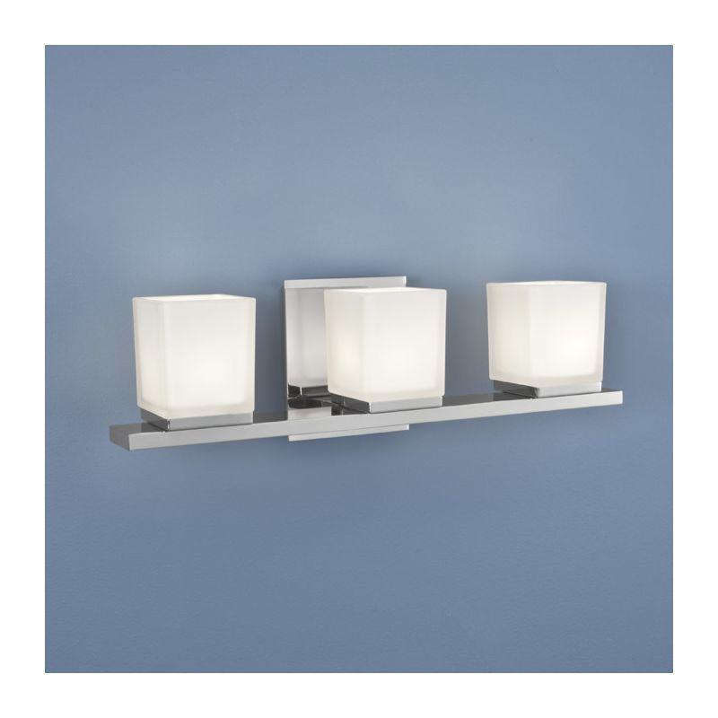 Norwell Lighting 5313-MO Icerto 3 Light Wall Sconce Chrome Indoor