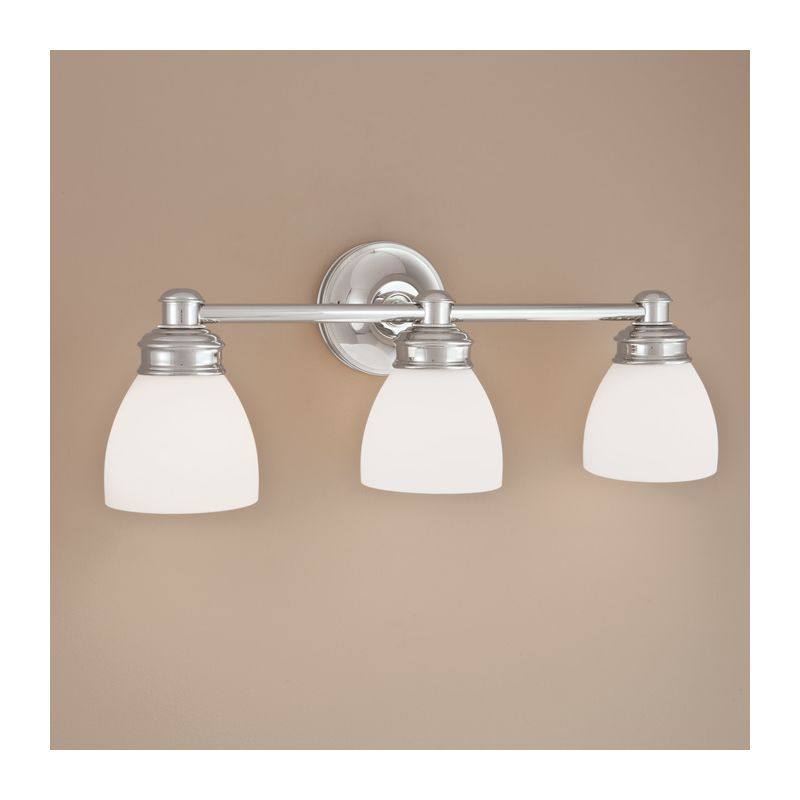"Norwell Lighting 8793 Spencer 9"" Tall 3 Light Bathroom Vanity Light"