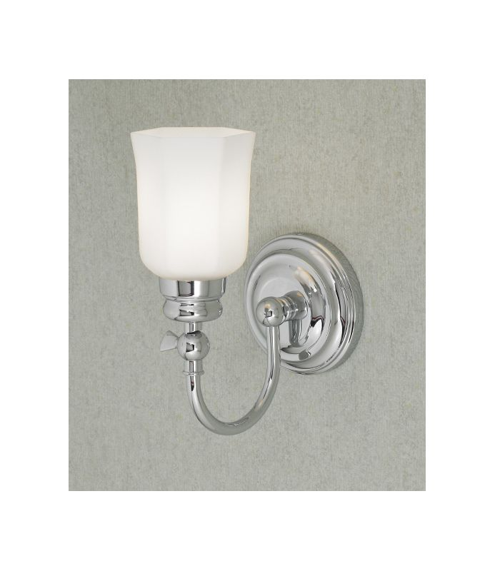 "Norwell Lighting 8911 Emily 12"" Tall Single Light Bathroom Sconce with"