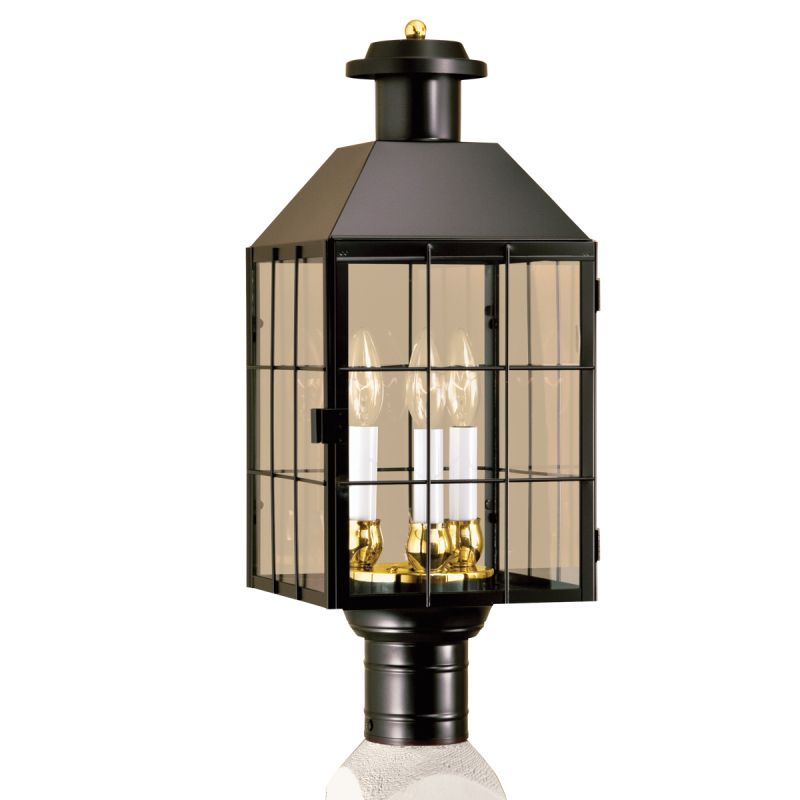 "Norwell Lighting 1056 American Heritage 3 Light 22"" Tall Outdoor Post"