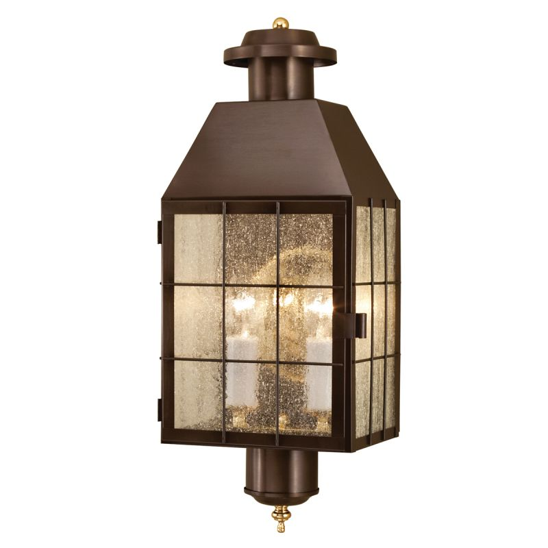 "Norwell Lighting 1093 American Heritage 2 Light 22"" Tall Outdoor Wall"
