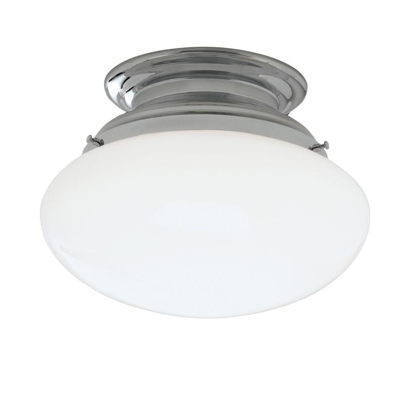 "Norwell Lighting 5370 Clayton Single Light 12"" Wide Semi-Flush Ceiling"