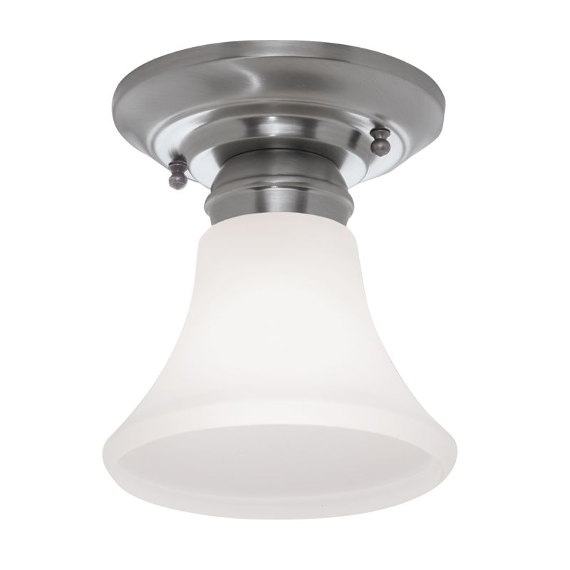 """Norwell Lighting 5371 Mecer Single Light 5"""" Wide Flush Mount Ceiling"""