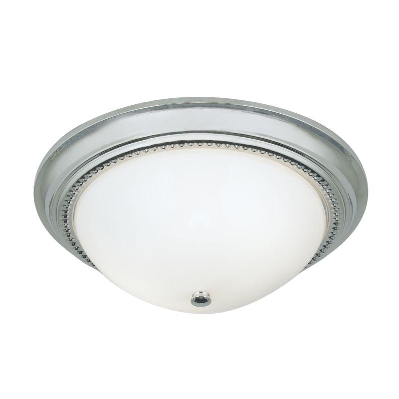"Norwell Lighting 5373 Soleil 2 Light 14"" Wide Flush Mount Ceiling"