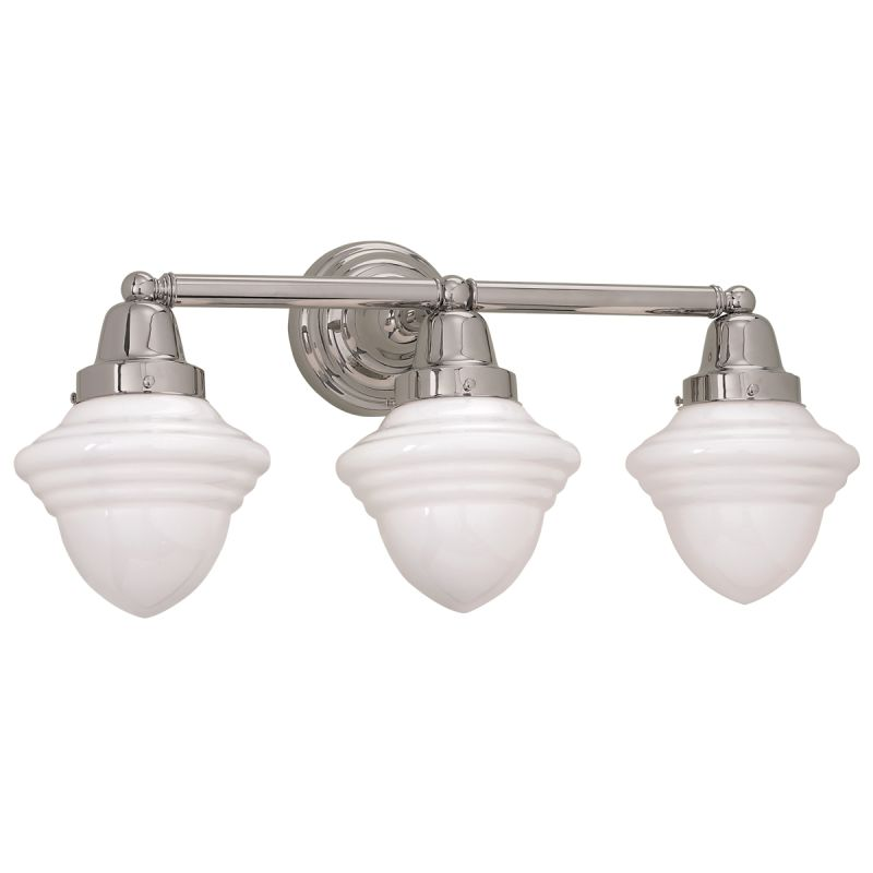 "Norwell Lighting 8203 Bradford 11"" Tall 3 Light Bathroom Vanity Light"