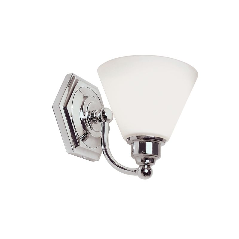 "Norwell Lighting 8531 Jenna 8"" Tall Single Light Bathroom Sconce with"