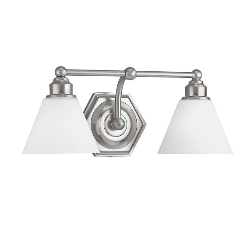 "Norwell Lighting 8532 Jenna 8"" Tall 2 Light Bathroom Vanity Light with"