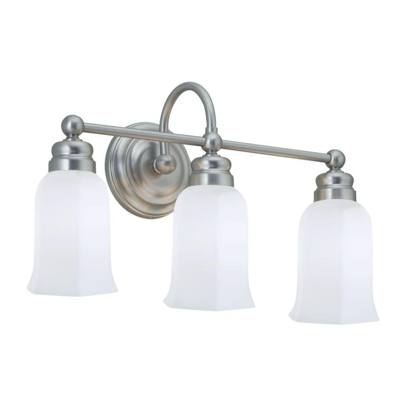 "Norwell Lighting 8913 Emily 12"" Tall 3 Light Bathroom Vanity Light Sale $239.50 ITEM: bci1431620 ID#:8913-BN-HXO :"