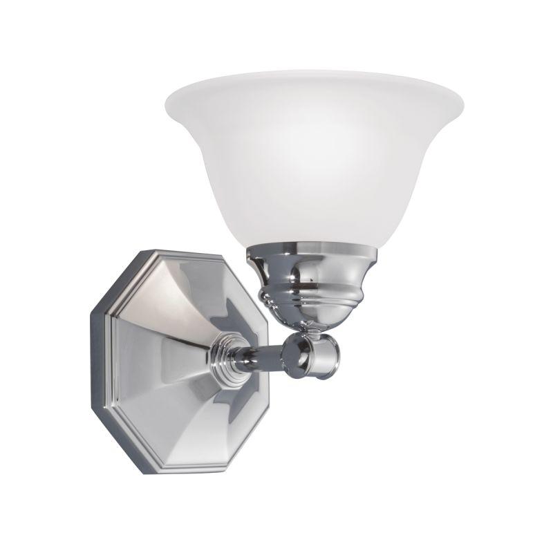 "Norwell Lighting 8941 Kathryn 9"" Tall Single Light Bathroom Sconce"