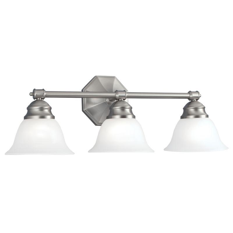 "Norwell Lighting 8943 Kathryn 9"" Tall 3 Light Bathroom Vanity Light"
