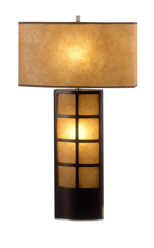 Nova Lighting 0472DT 27 Inch Buffet Lamp From the Ventana Collection