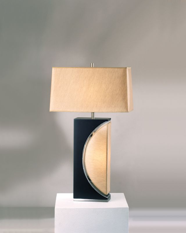 Nova Lighting 0736 27 Inch Buffet Lamp From the Half Moon Collection