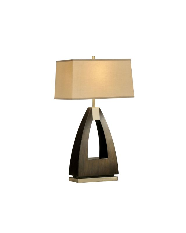 Nova Lighting 10392 28 Inch Table Lamp From the Trina Collection Pecan
