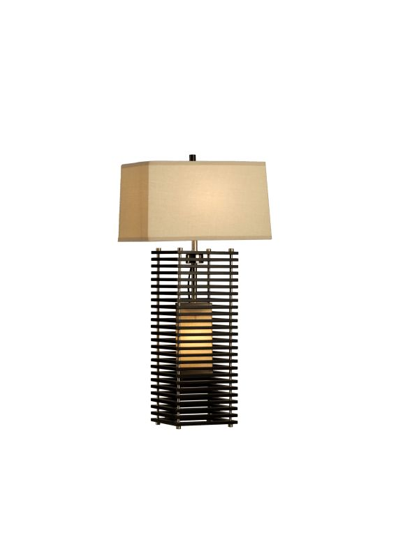 Nova Lighting 10420 16 Inch Table Lamp From the Kimura Collection Dark