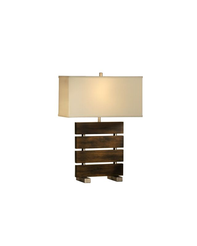 Nova Lighting 10587 28 Inch Table Lamp From the Divide Collection Dark