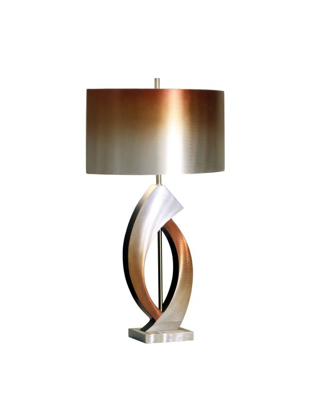 Nova Lighting 10640 28 Inch Table Lamp From the Swerve Collection